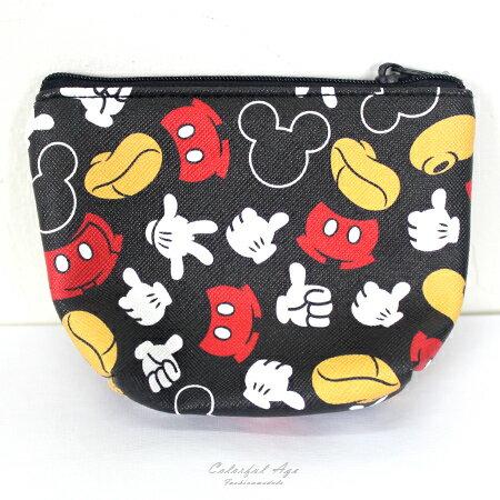 零錢包 正版迪士尼Disney系列皮革收納包/卡夾包 滿版圖鴉人氣卡通圖案 柒彩年代【NS13】可愛單品