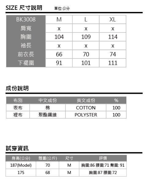 【BlueKONn.】內刷毛運動外套 1