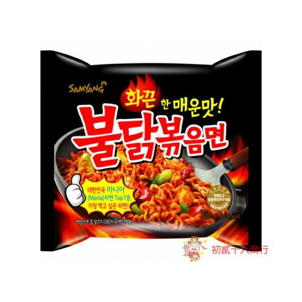 【0216零食會社】韓國最辣三養_辣炒雞肉鐵板麵140g(挑戰你的極限!)