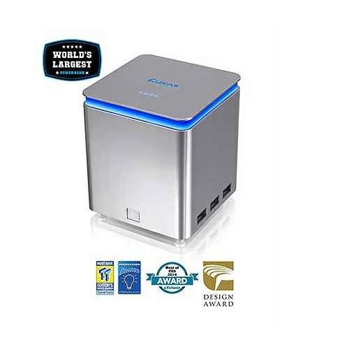 (福利品) LUXA2 行動電源 電霸 41600mAh 鋁製銀色