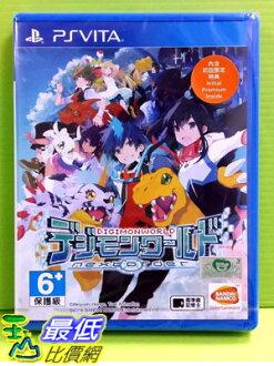 (刷卡價) 現貨附特典 PSV 數碼寶貝世界 新秩序 亞洲 日文版