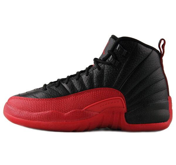 【蟹老闆】【現貨+預購】Air Jordan 12 Flu 喬丹12代黑紅 籃球鞋 休閒運動鞋 男鞋