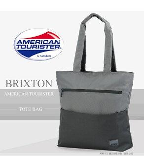 《熊熊先生》新秀麗 Samsonite 美國旅行者 混色輕時尚 直立式筆電托特包 14吋 手提包 公事包