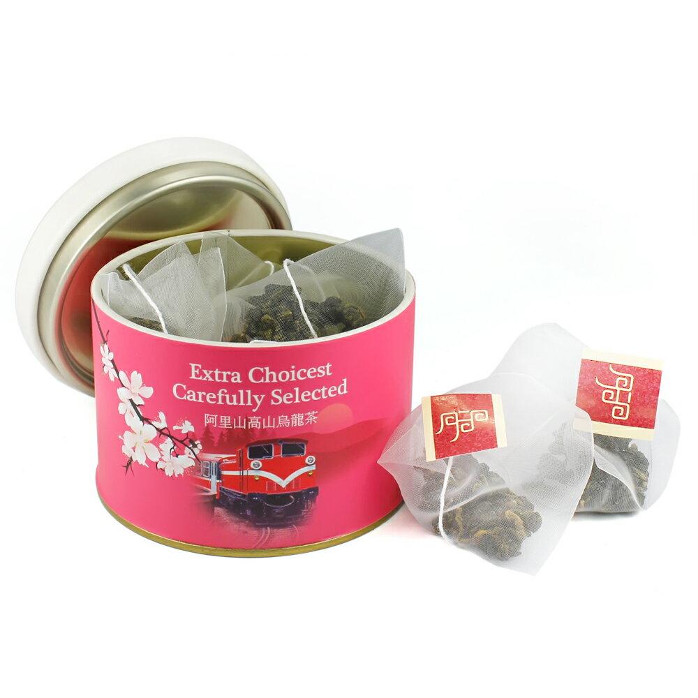 【杜爾德洋行 Dodd Tea】嚴選阿里山高山烏龍茶立體茶包12入 【小火車紀念版】 1