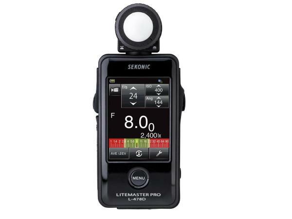 Sekonic L-478D 觸控式測光表 L478D 正成公司貨 含稅免運費