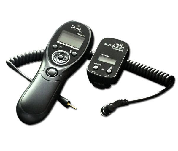 *兆華國際* PIXEL TW-282 無線電液晶定時快門遙控器 開年公司貨 含稅價