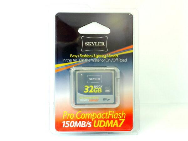 *兆華國際* Skyler 32G 32GB CF 1000X 公司貨終身保固 Sandisk Extreme Pro 參考 含稅免運費