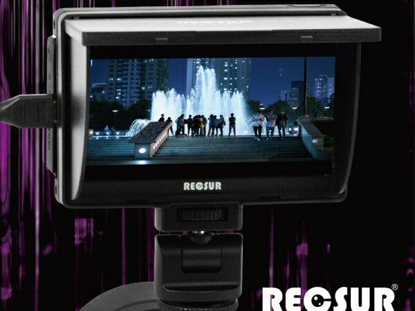 *兆華國際* Reosur DT-508 銳攝5吋LCD液晶監看螢幕 送電池+充電器 Sony CLM-V55參考 含稅價