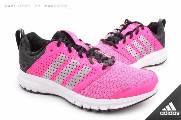 『Mossback』ADIDAS MADORU W 柔軟鞋底 運動 慢跑鞋 黑粉(女.)NO:M21576