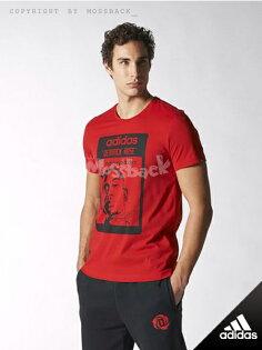 『Mossback』ADIDAS ROSE TEE 玫瑰 羅斯 短T 紅色(男.)NO:S22961