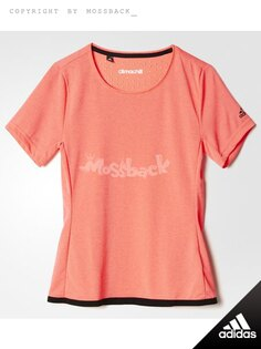 『Mossback』ADIDAS CLIMACHILL 短T 排汗 橘紅(女.)NO:S30418