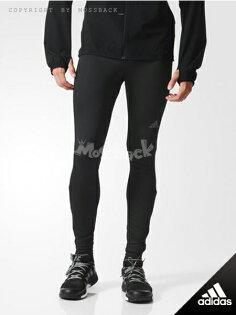 『Mossback』ADIDAS SN LONG TIGHT M 運動 慢跑 緊身長褲 黑色(男)NO:AA0616