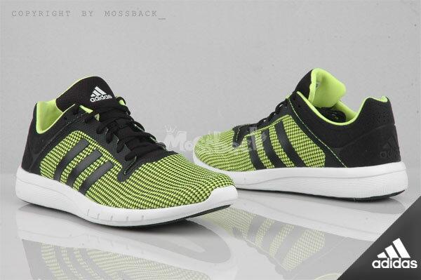 『Mossback』ADIDAS CC FRESH 2 M 輕量 緩震跑鞋 綠黑(男)NO:B22965