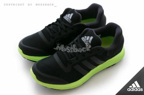 『Mossback』ADIDAS ENERGY BOUNCE M 軟底 輕量 慢跑鞋 黑黃(男)NO:B33956