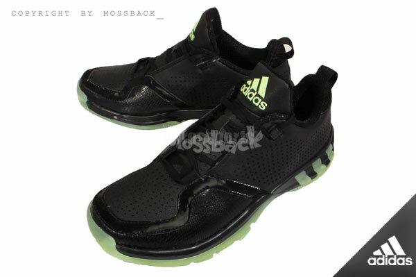『Mossback』ADIDAS POST UP 2 輕量 透氣 低筒 籃球鞋 黑色(男)NO:D69683