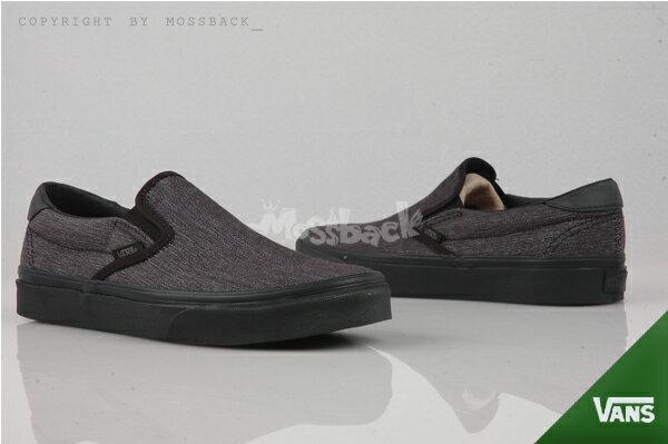 『Mossback』VANS SLIP-ON 59 百搭 懶人至尊鞋 黑色(男)NO:53010844