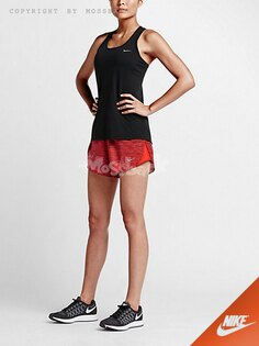 『Mossback』NIKE EQUILIBRIUM MODERN TEMPO 運動 短褲 紅條紋(女)NO:723945-696
