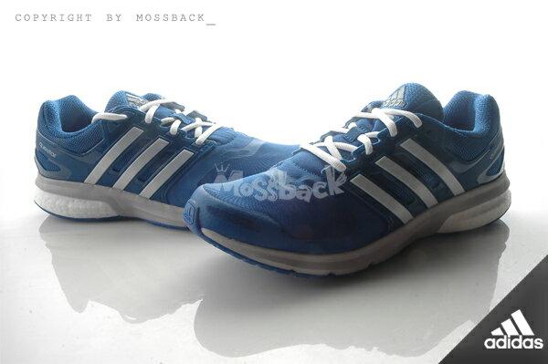 『Mossback』ADIDAS QUESTAR TF M BOOST 訓練 慢跑鞋 藍灰白(男)NO:AQ6633