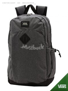 『Mossback』VANS BACKPSCK 毛料 雙肩 後背包 休閒 灰色NO:472401GY