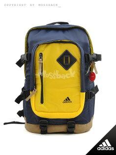 『Mossback』ADIDAS ST BP2 運動 休閒 雙肩背 後背包 藍黃NO:M65189