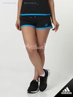 『Mossback』ADIDAS CLIMACHILL SHORTS 短褲 黑藍(女)NO:S24502