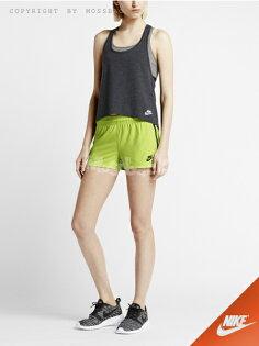 『Mossback』NIKE BONDED WOVEN 短褲 運動 綠色(女)NO:643078-371