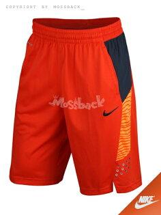 『Mossback』NIKE KD HYPERELITE POWER SHORT 籃球 短褲 橘紅(男)NO:646186-891