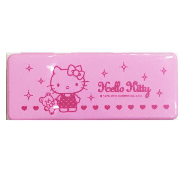HELLO KITTY 方形 鉛筆盒 收納盒 置物盒 文具 正版日本授權 * JustGirl *