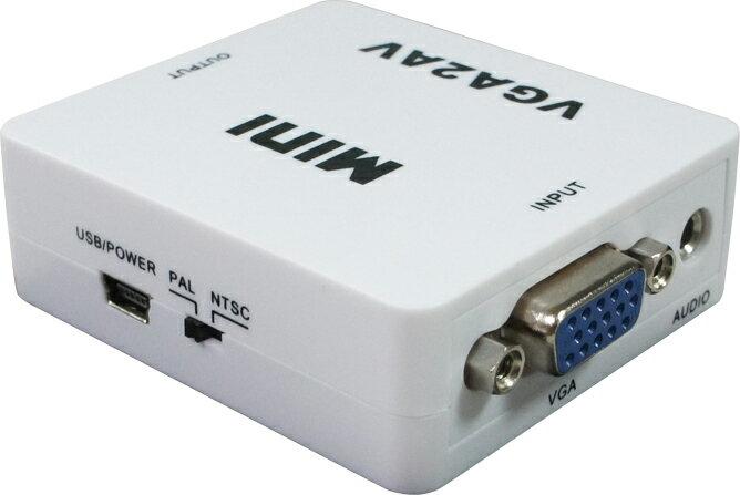 AviewS-VGA+Audio轉AV轉接器/PSTEK HDC-VC02 2