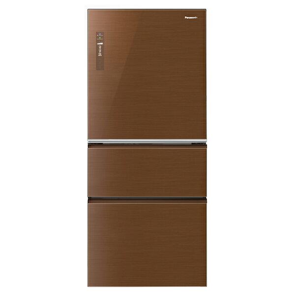 【國際牌Panasonic】ECONAVI 610L三門變頻電冰箱。翡翠棕/(NR-C618NHG/NR-C618NHG-T)