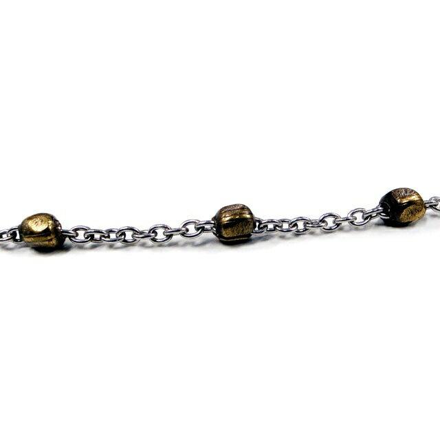 【海外訂購】【amp japan】美式串珠十字架項鍊(AMP-12AH-150 0592340000) 2