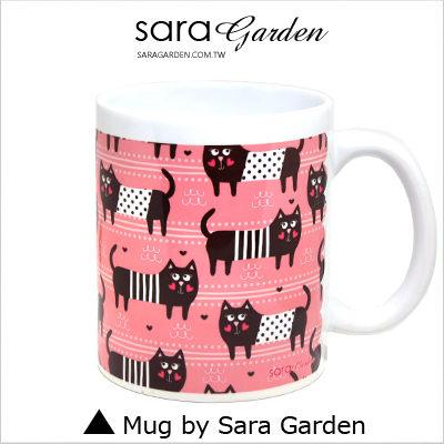客製 手作 彩繪 馬克杯 Mug 手繪 插畫 愛心 貓咪 咖啡杯 陶瓷杯 杯子 杯具 牛奶杯 茶杯【M0320061】