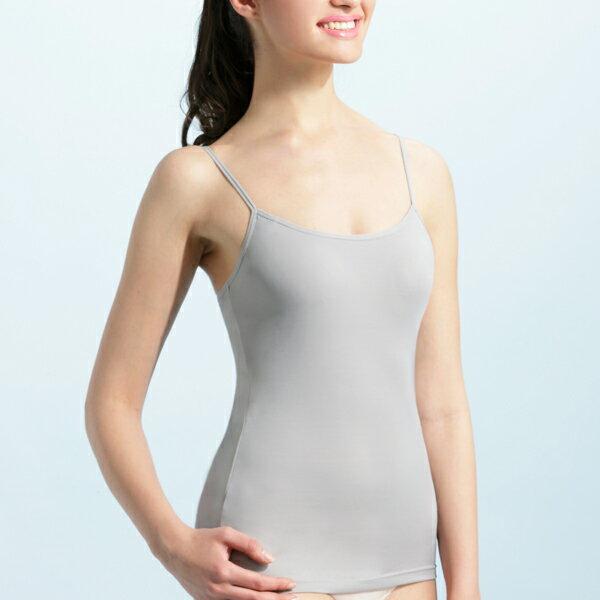 【MIGER密格內衣】BRA IN抗UV細肩帶背心-灰色-台灣製-(編號:GL3853)