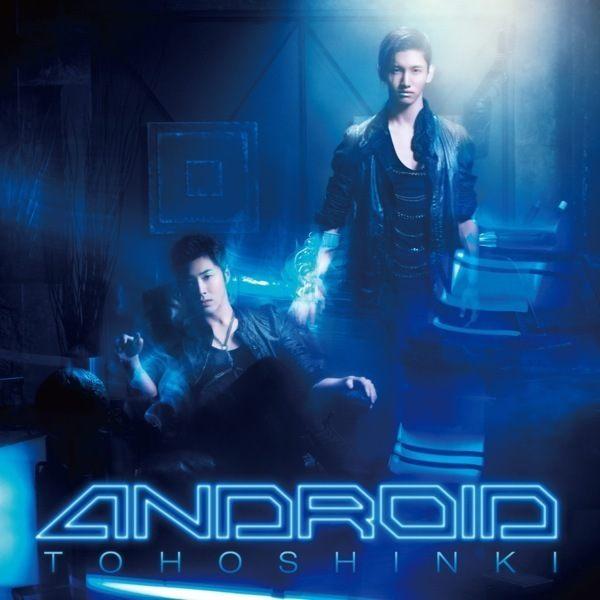 東方神起 機械人類 初回版 CD ANDROID BLINK舞曲旋風熱力舞曲modest gothic remix (音樂影片購)