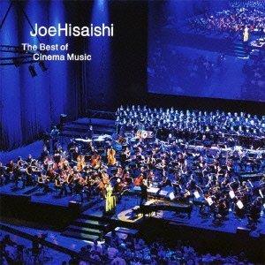 久石讓電影配樂代表輯CD Joe Hisaishi The Best of Cinema Music 龍貓惡人風之谷 (音樂影片購)