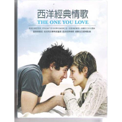 西洋經典情歌 CD (10片裝) THE ONE YOU LOVE 似曾相識不能沒有你永遠摯愛 (音樂影片購)