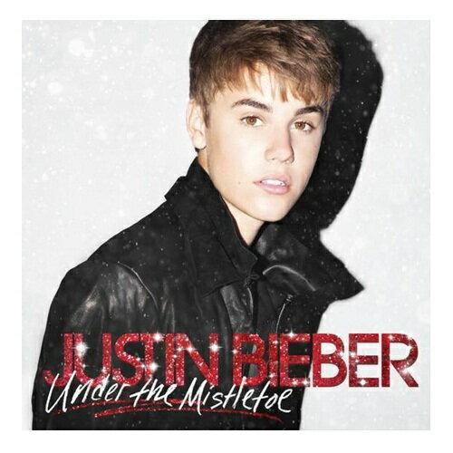 小賈斯汀 愛在聖誕 CD附DVD精裝盤 個人首張耶誕專輯Justin Bieber Under The Mistletoe(音樂影片購)