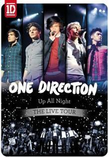 1世代 青春無敵 尖叫演唱會 DVD One Direction Up All Night The Live Tour DVD 英倫偶像 (音樂影片購)