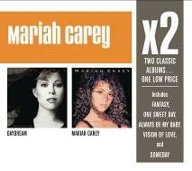 瑪麗亞凱莉 美夢成真+同名專輯 雙CD 巨星雙碟中價系列 Mariah Carey X2 (音樂影片購)