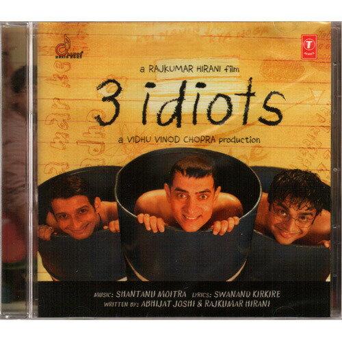 三個傻瓜 電影原聲帶CD 3個傻瓜 OST 3 Idiot 3K天王阿米爾汗 Aal Izz Well (音樂影片購)