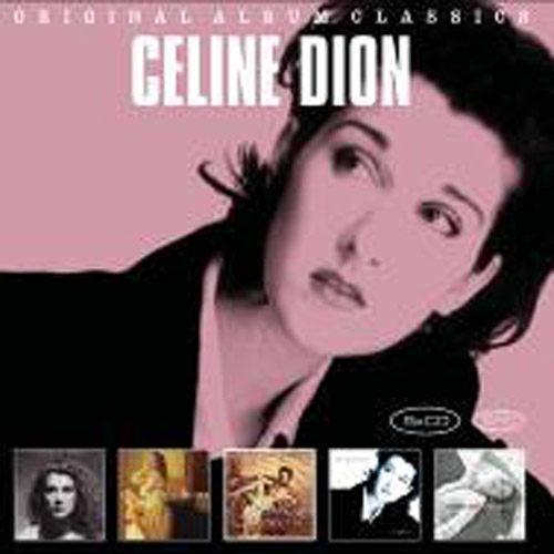 席琳狄翁 經典專輯全集 5CD Celine Dion Original Album Classics 冠軍單曲 (音樂影片購)