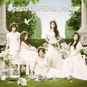 KARA Speed Up GIRLS POWER 初回B盤 CD附DVD 知英 奎利 妮可 昇延 荷拉 (音樂影片購)