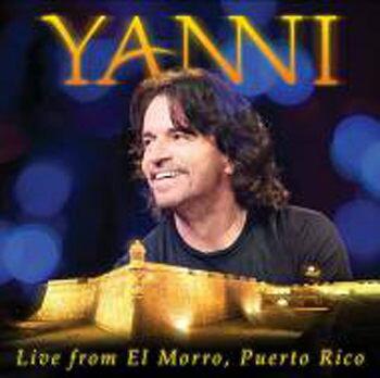 雅尼 波多黎各古城之夜 CD附DVD Yanni Live from El Morro, Puerto Rico 真實感動 (音樂影片購)