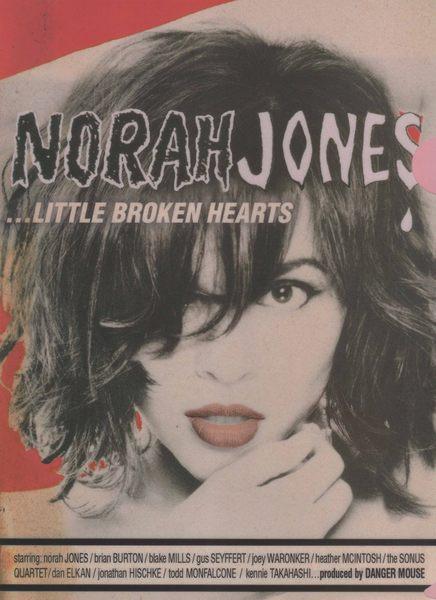 諾拉瓊絲 資料夾 NORAH JONES LITTLE BROKEN HEARTS 影音周