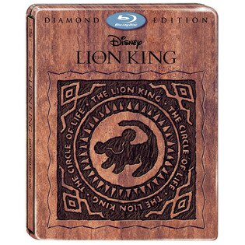 獅子王3D+2D 雙碟鐵盒版 藍光BD The Lion King 迪士尼 Disney 艾爾頓強 Elton John (音樂影片購)