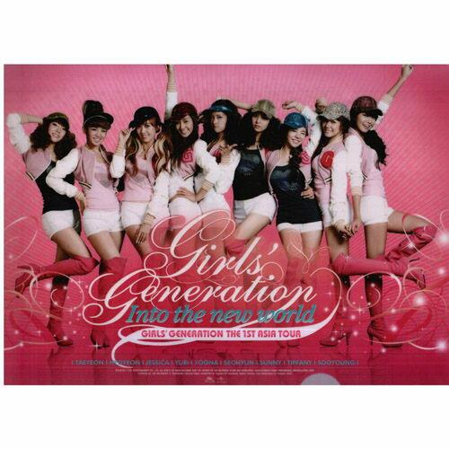 少女時代 資料夾THE 1ST ASIA TOUR 文件夾 限量影音周邊商品 GIRLS'GENERATION(音樂影片購)