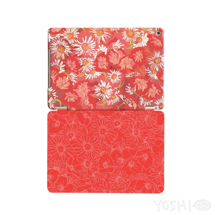 逆轉GO系列 - 新春POP【花中夢露(紅)】:《iPad / iPad Air / iPad Mini 》水晶殼+Smart Cover(磁桿)