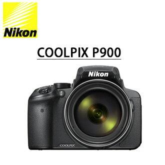 ★分期零利率 ★送32G高速卡+專用座充+清潔超值組+靜電抗刮保護貼 Nikon P900 高望遠 類單眼數位相機  國祥公司貨