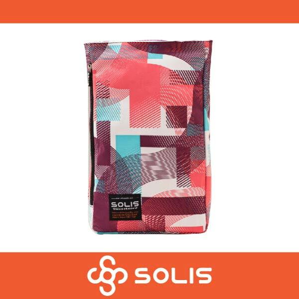 萬特戶外運動 SOLIS B09009 馬戲團系列多功能方型平板電腦背包 後背包 側背包 粉紫色