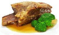 聖誕節禮物推薦台塑牛小排(熟食)☆加熱即時超方便☆馬上可享用牛排大餐☆